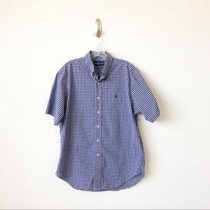 Ralph Lauren Blue Label check short sleeve shirt